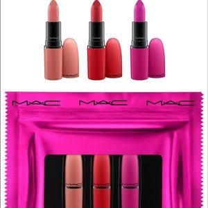 Mac lip set new and authentic